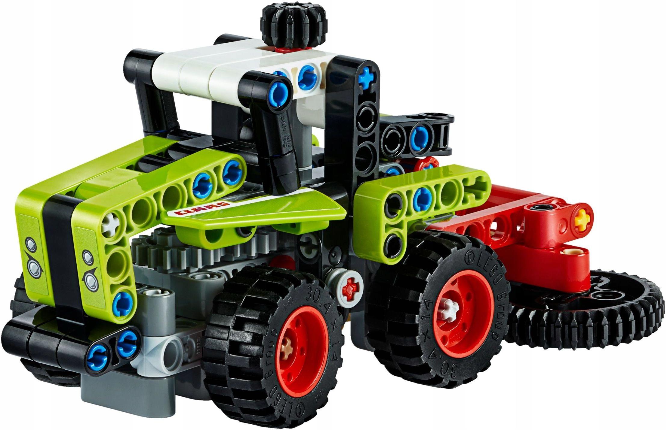 LEGO 42102 Technic Traktor Kombajn PEWNI SZYBKO Płeć Chłopcy Dziewczynki