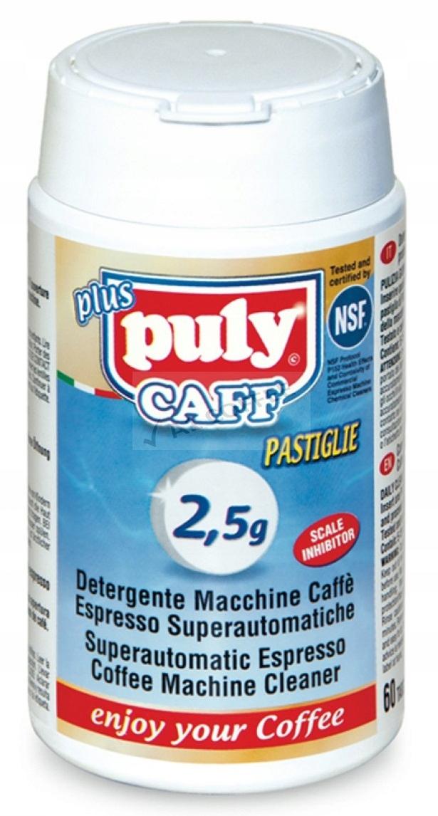 Таблетки для чистки кофемашины Puly Caff 60x2,5 г