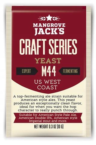 Mangrove Jack M44 US WEST COAST 10 г пивные дрожжи