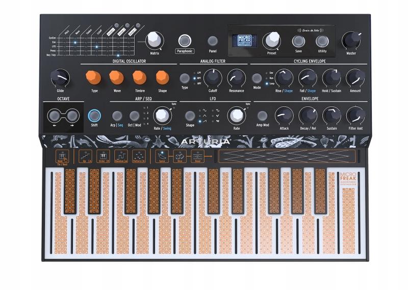 Купить Arturia MicroFreak - синтезатор гибридный на Otpravka - цены и фото - доставка из Польши и стран Европы в Украину.