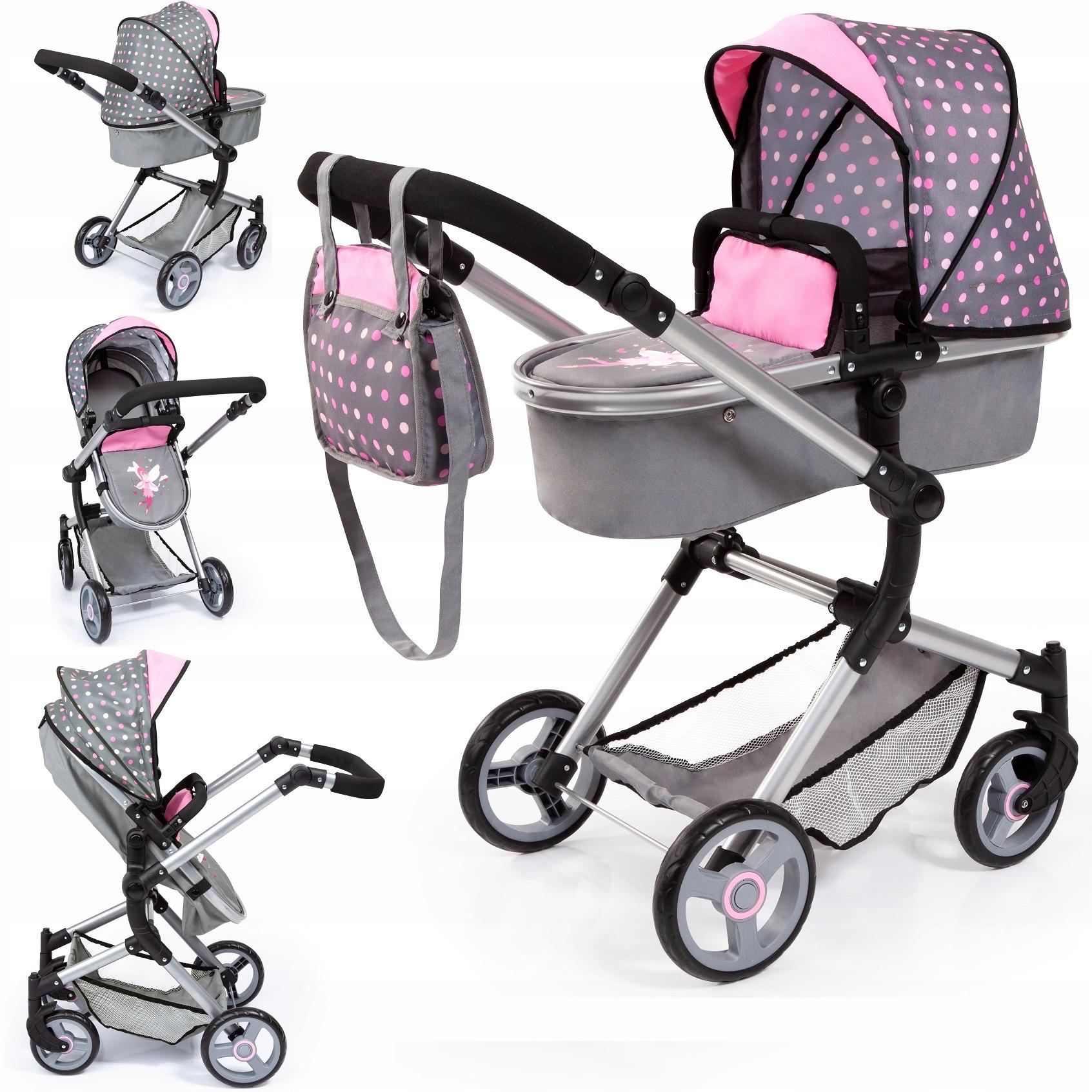 Bayer Design TROLLEY pre bábiky VARIO COMBI otočný