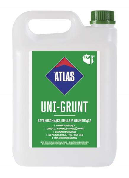 Atlas Uni Grunt Uniwersalny grunt do podłoży 10KG