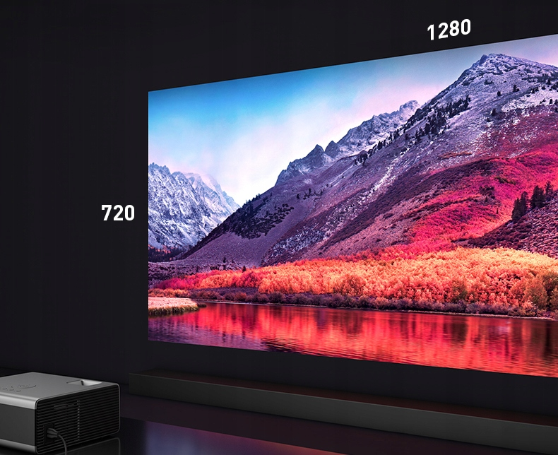 PROJEKTOR OVERMAX MULTIPIC 3.5 LED HD WiFi PROJEKTOR Produktvekt 1,5 kg