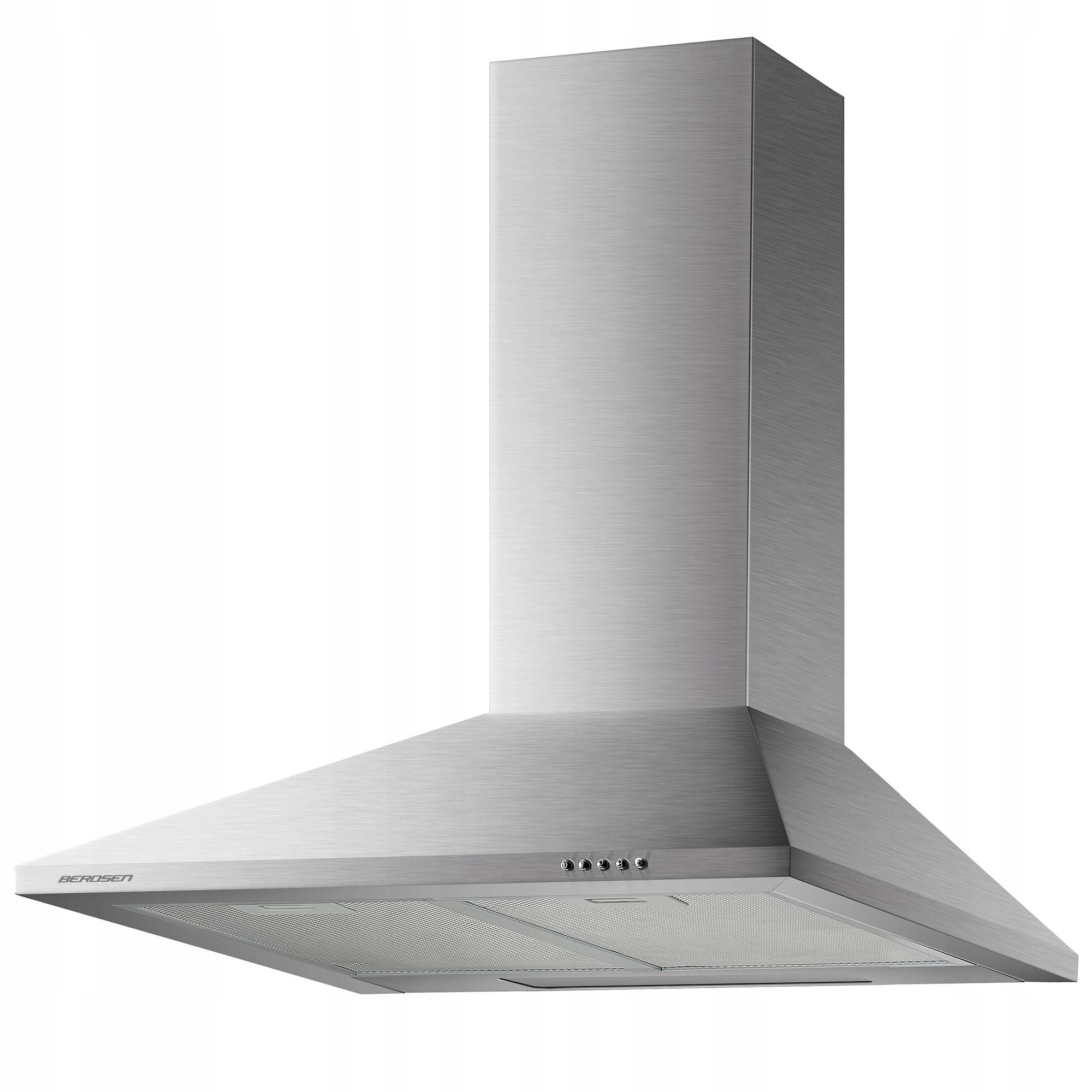 Кухонная ВЫТЯЖКА 60 см ДЫМОХОДНАЯ +ТРУБА +ДЫМОХОД BT-213
