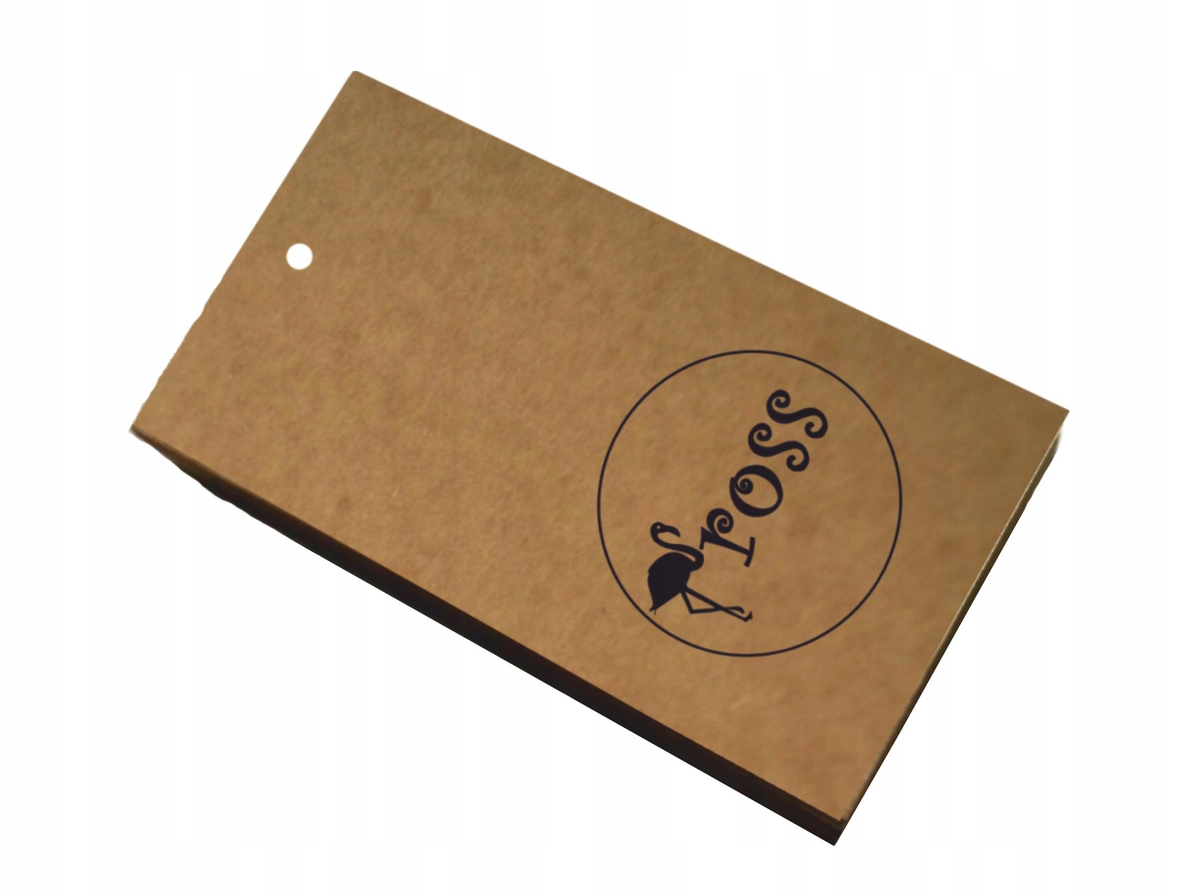 Ценники для одежды бирки бумажные ЭКО 250 шт.