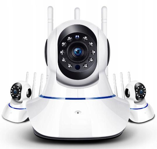 Kamera Ip Obrotowa Full Hd 1080p WIFi Niania Audio