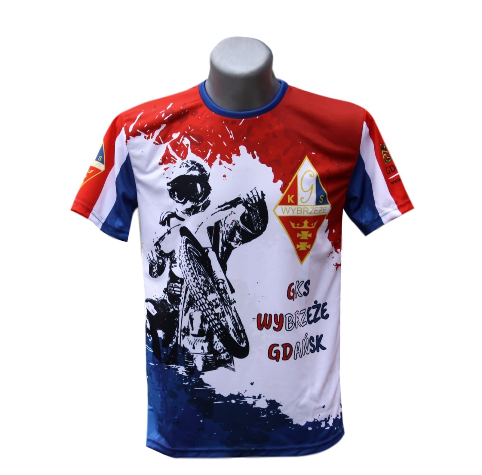 Купить GKS WYBRZEZE футболка детский ROZM122 Спидвей на Eurozakup - цены и фото - доставка из Польши и стран Европы в Украину.