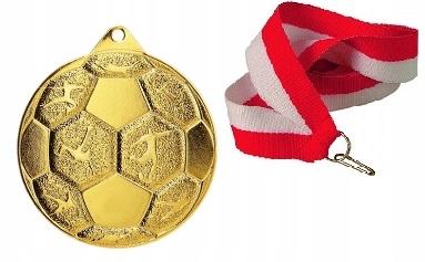 Купить МЕДАЛЬ мяч nożna   ср BR 50 мм WSTĄŻKANADRUK на Eurozakup - цены и фото - доставка из Польши и стран Европы в Украину.