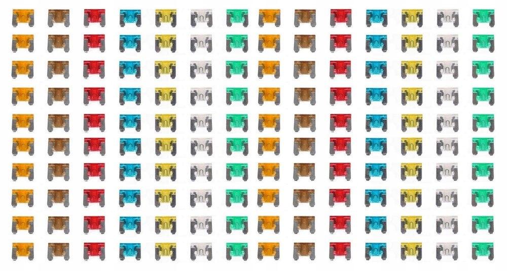 предохранители пластинчатые мини низкий профиль 140 штук