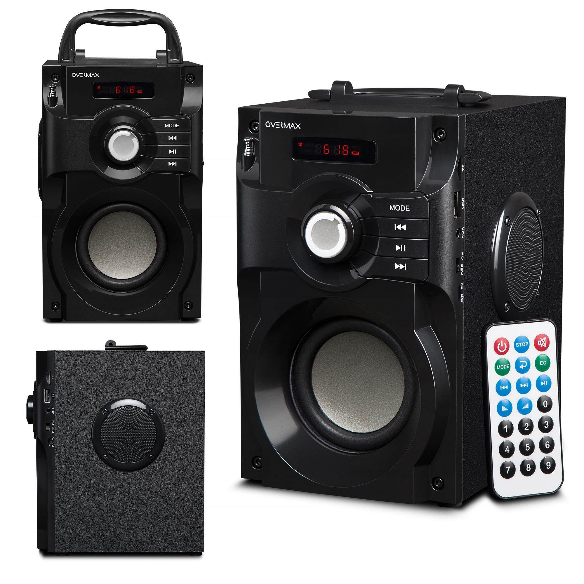 Głośnik Bluetooth Soundbeat 2 0 USB SD AUX RADIO