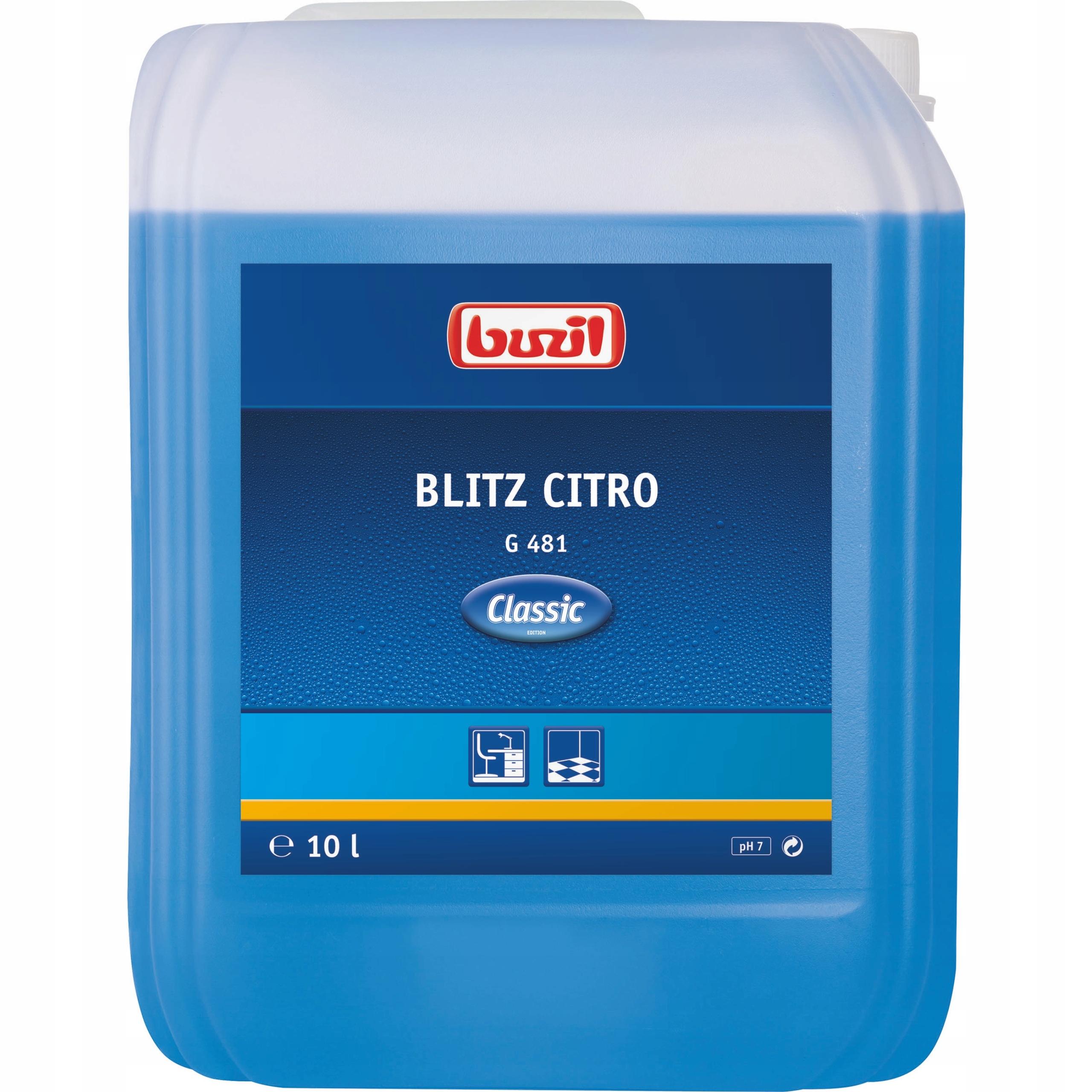 Uniwersalny środek Blitz Citro Buzil G481 10l