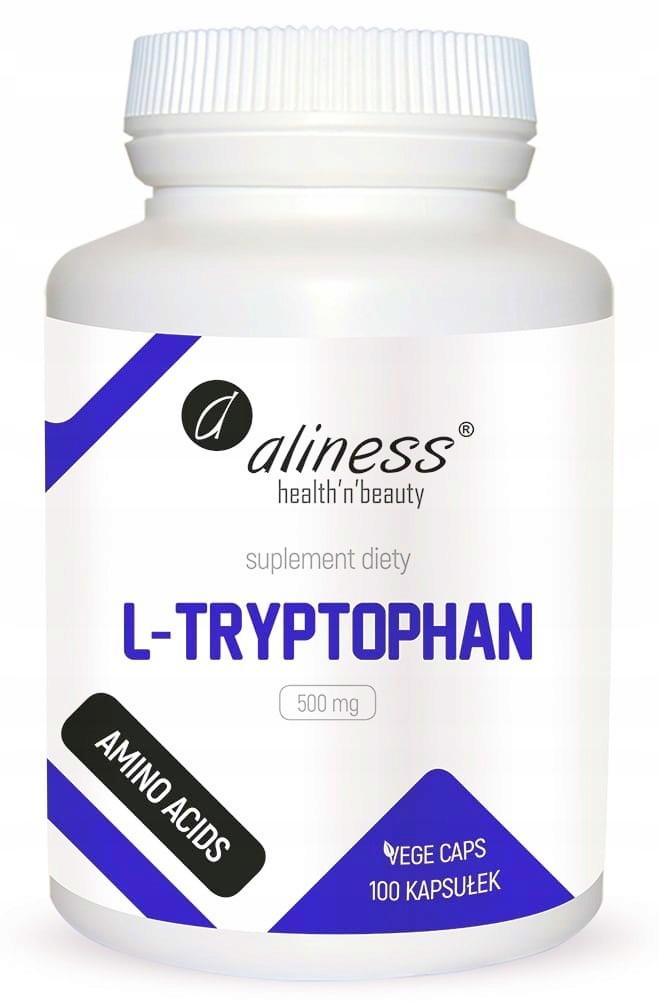 Aliness L- TRYPTOFAN tryptophan 500 mg 100 kaps