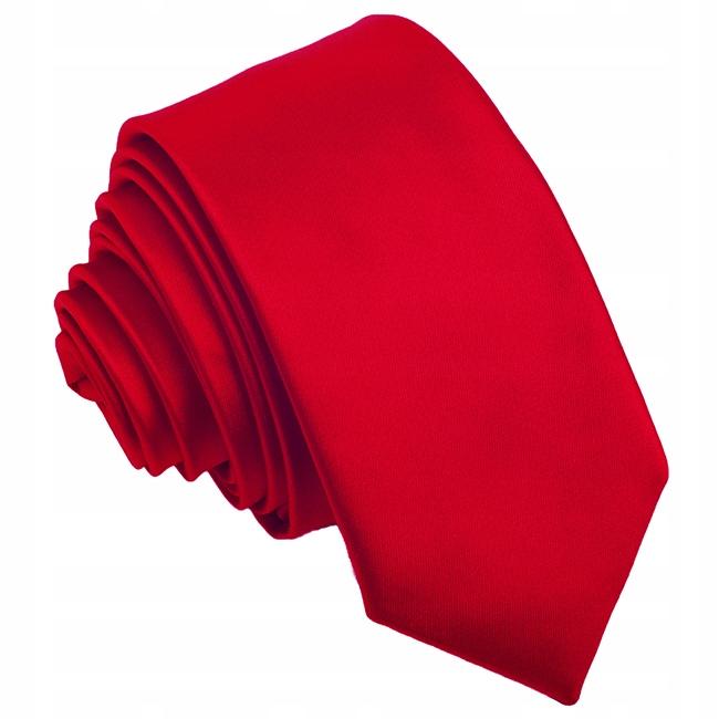 Купить ГЛАДКИЙ, Одноцветный Галстук с обещанием красной розы Красный R17 на Otpravka - цены и фото - доставка из Польши и стран Европы в Украину.