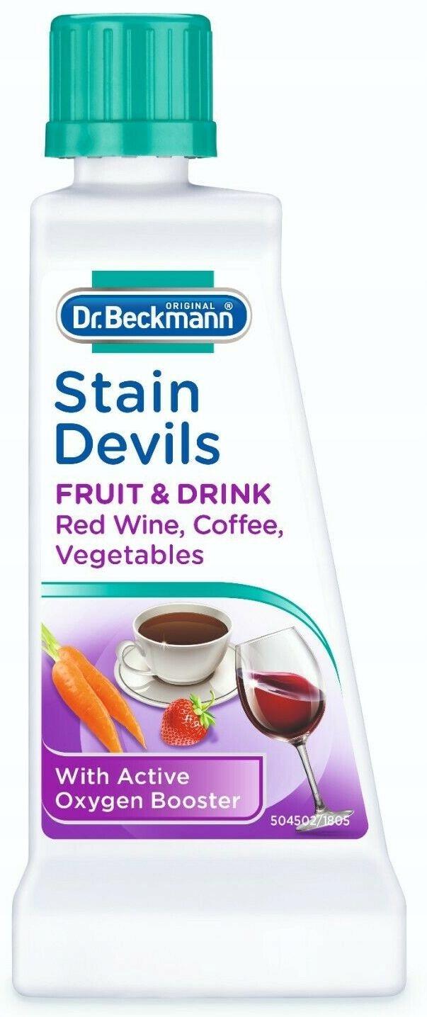 Dr. Beckmann Škvŕn, odstránenie Víno, Ovocie, Čaj, Šťavy, 50 ml