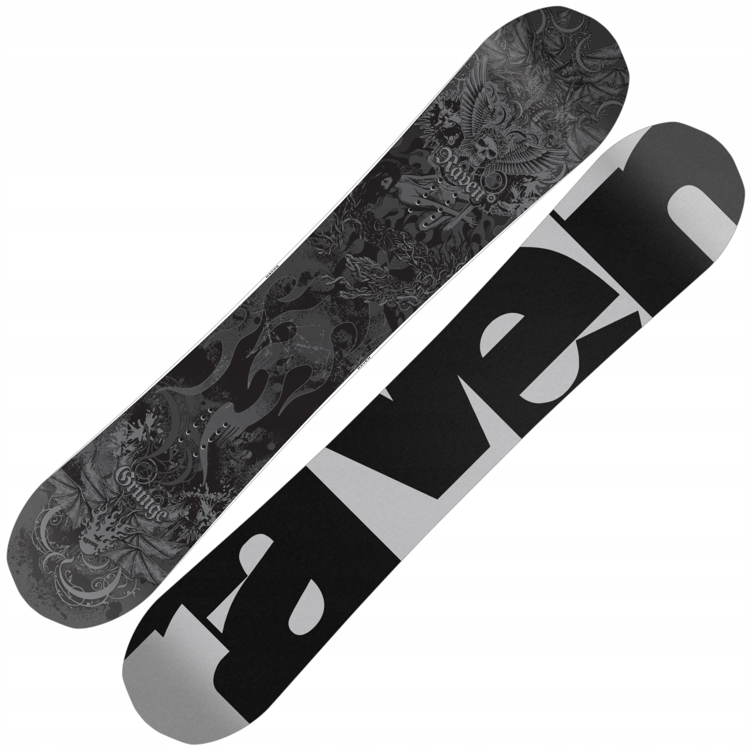 RAVEN snowboard Grunge 162 cm Polovice Široký 2019