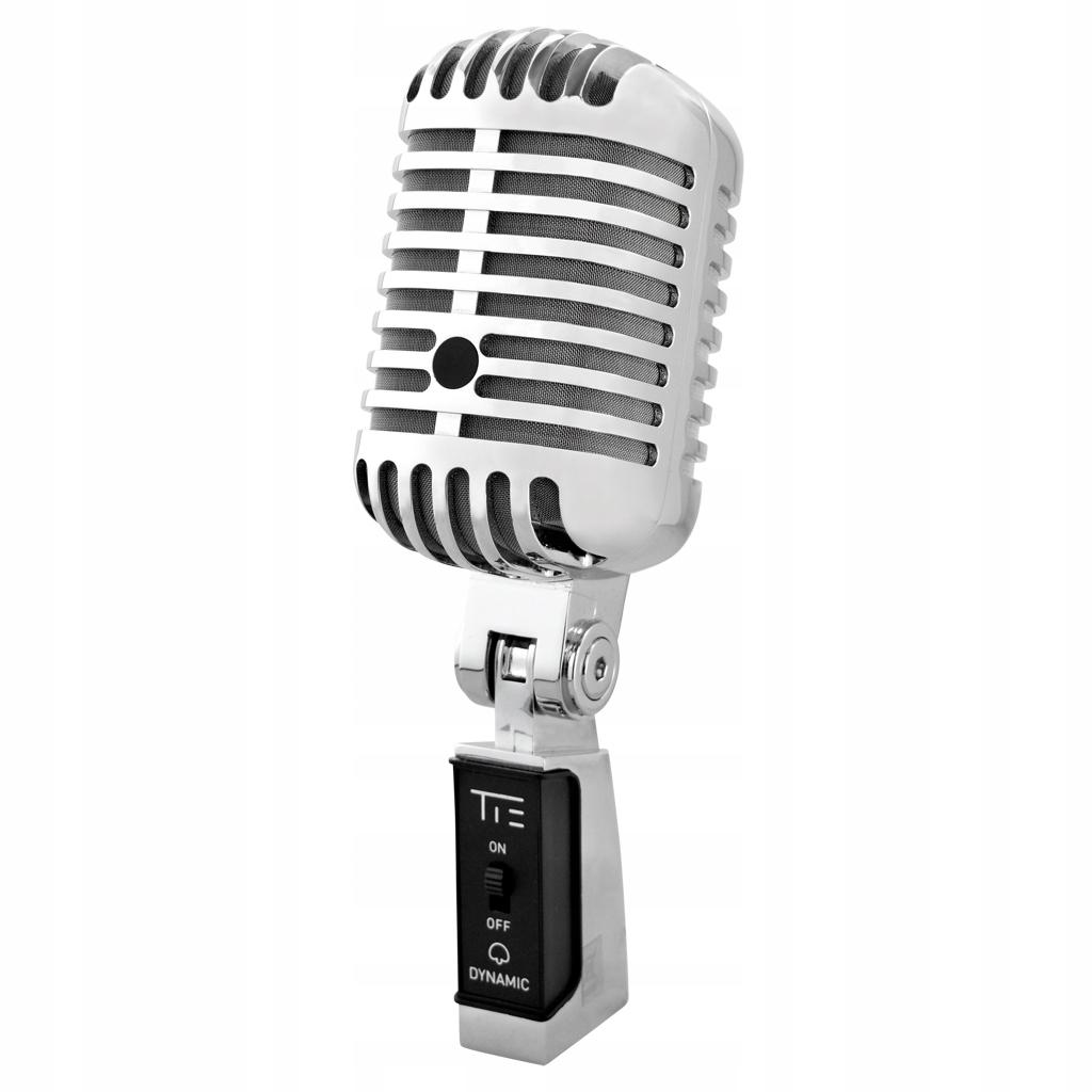 KRAVATU mikrofón Vintage XLR dynamický Mikrofón kovov