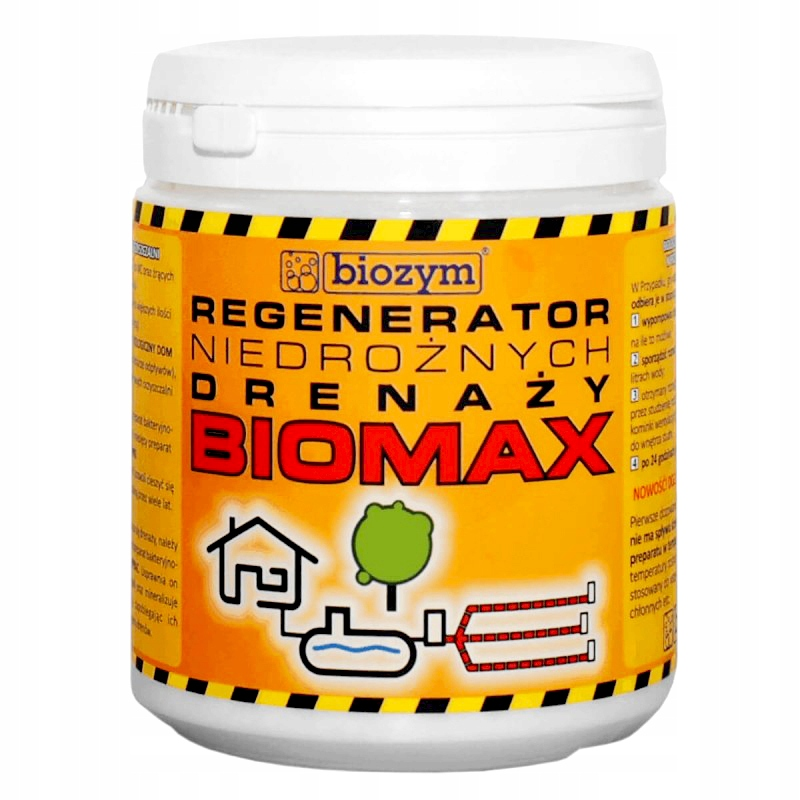 Biozym BIOMAX Drainage Regenerator Degreaser 800гр.