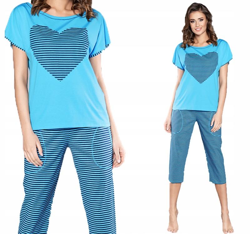 Italian Fashion Dekada piżama spodnie 3/4 XXL