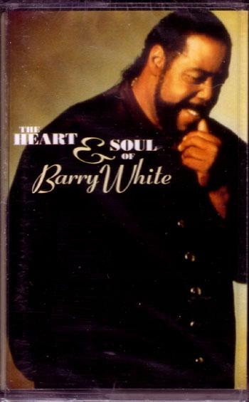 Item BARRY WHITE - THE HEART & SOUL cassette audio