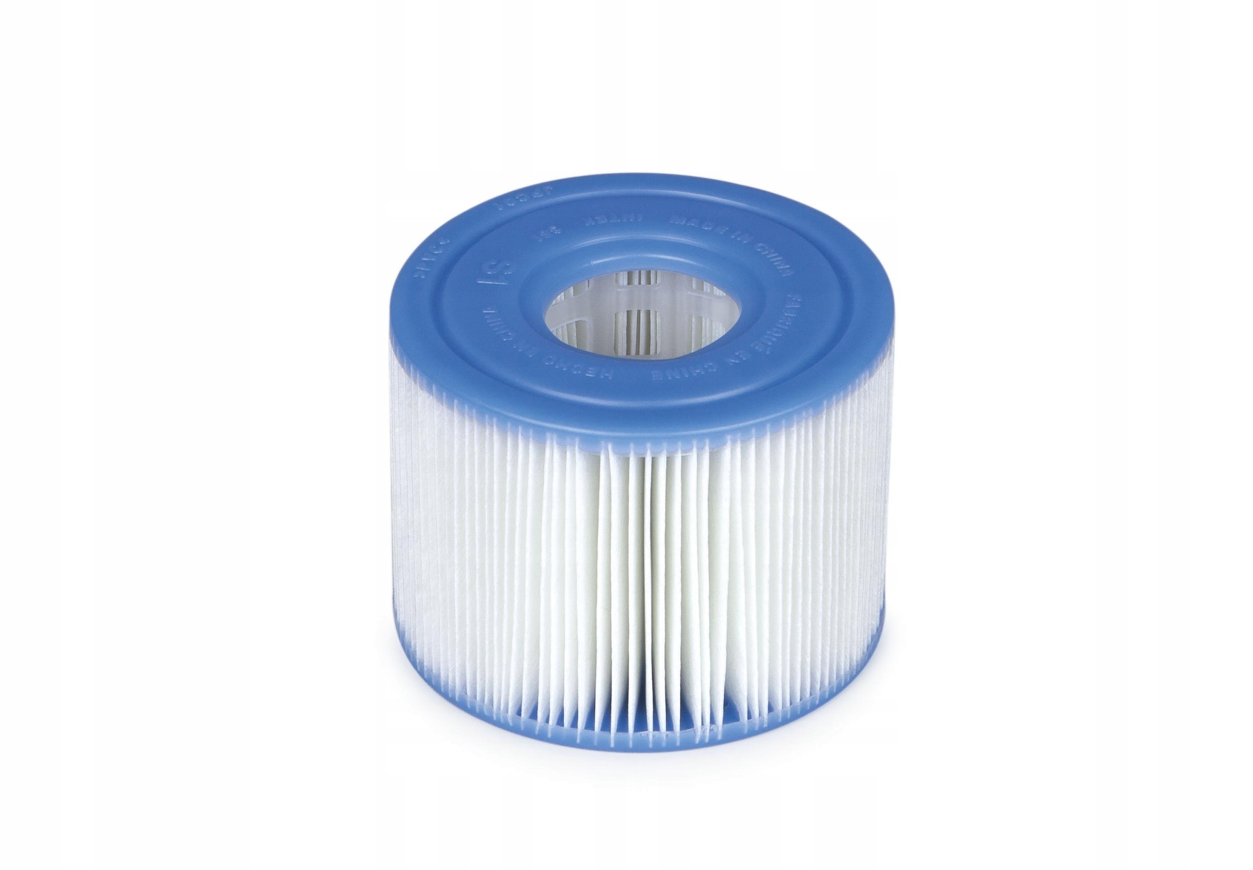 2x FILTR FILTRY TYP S1 do POMPY SPA INTEX 29001 Waga produktu z opakowaniem jednostkowym 0.3 kg