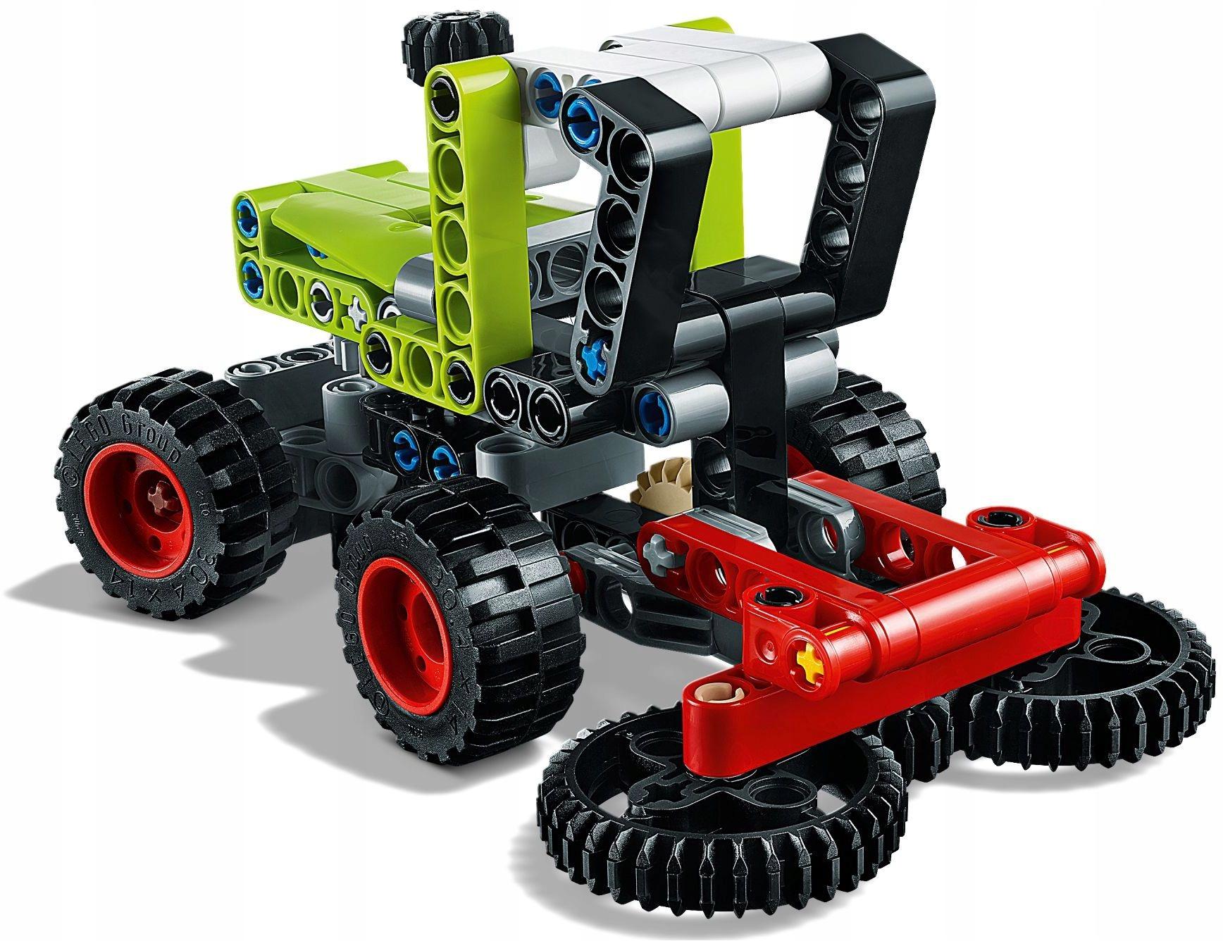 LEGO 42102 Technic Traktor Kombajn PEWNI SZYBKO Wiek dziecka 7 lat +