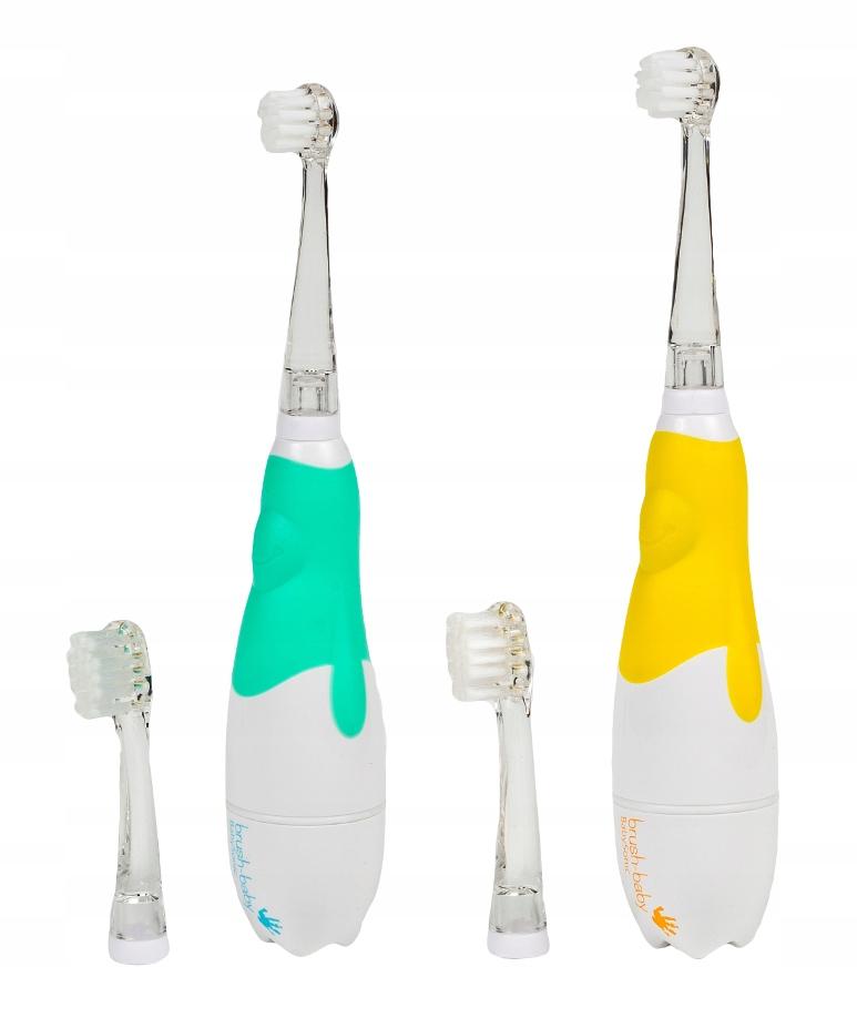BRUSH-BABY зубная Щетка sonic для детей 0-3 лет