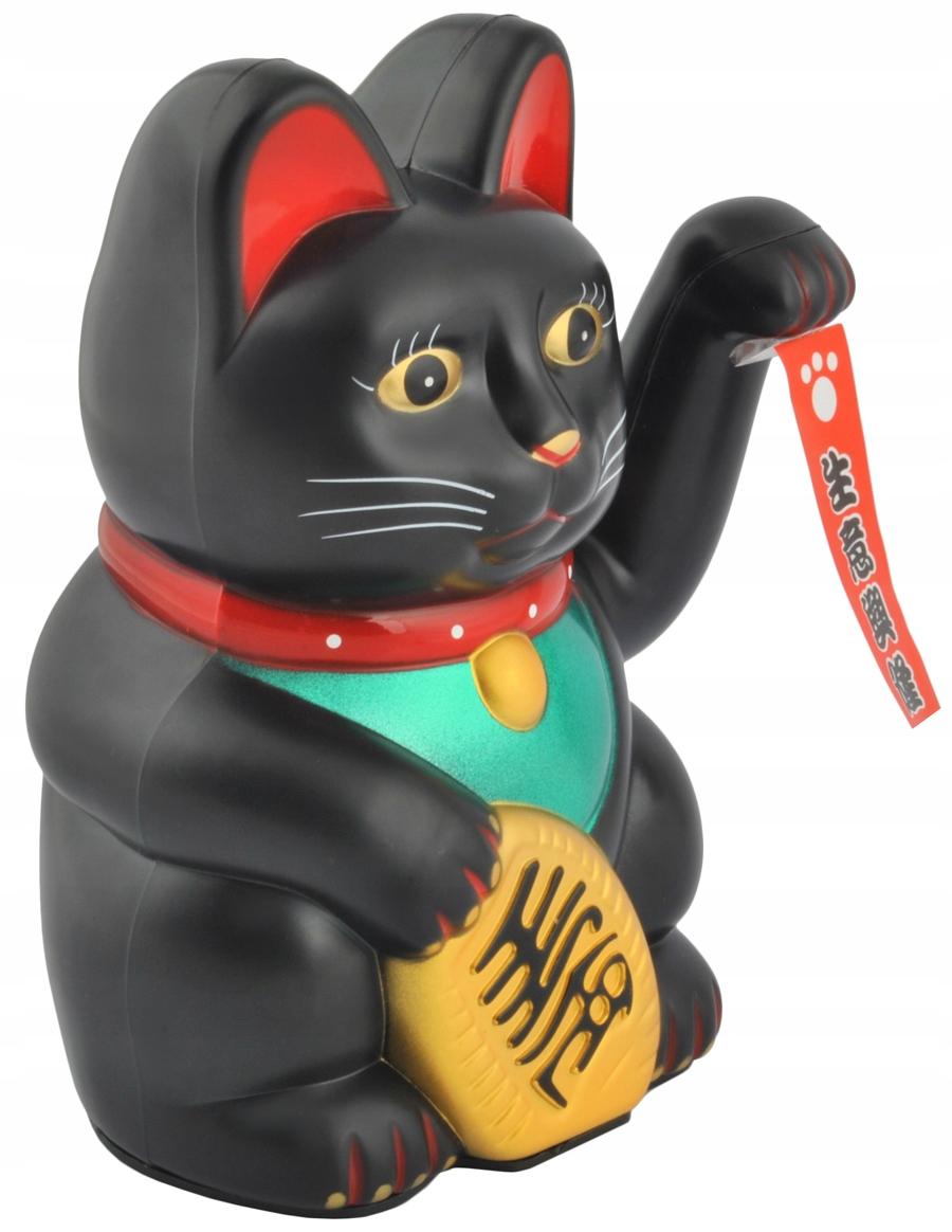 Japoński Kot Maneki-Neko Chiński Kot Szczęścia