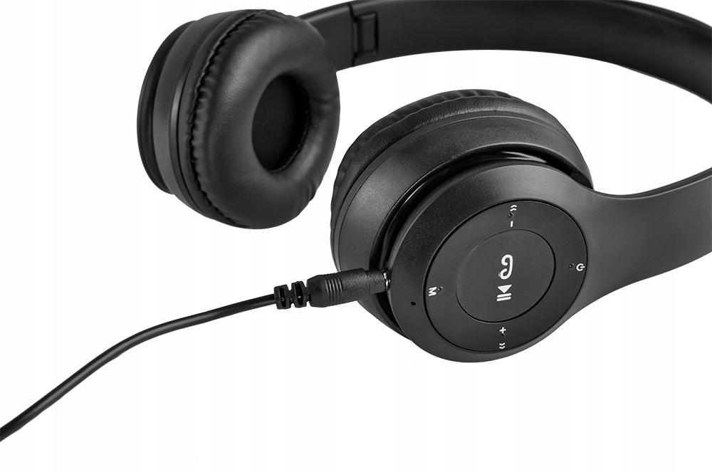 Sluchátka Bezdrátový mikrofon Bluetooth Mikrofon FM MP3 ano