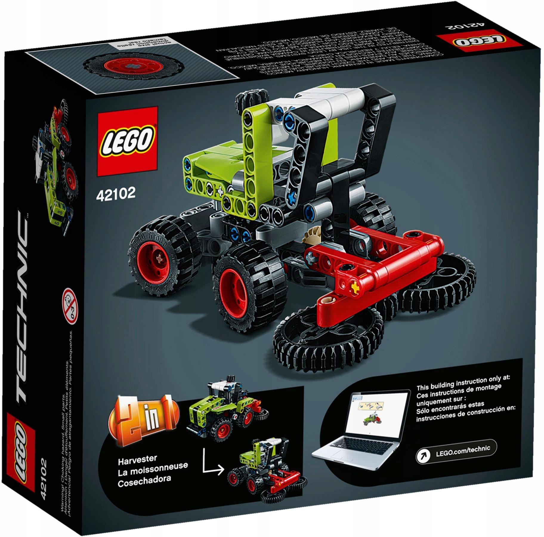 LEGO 42102 Technic Traktor Kombajn PEWNI SZYBKO Bohater brak