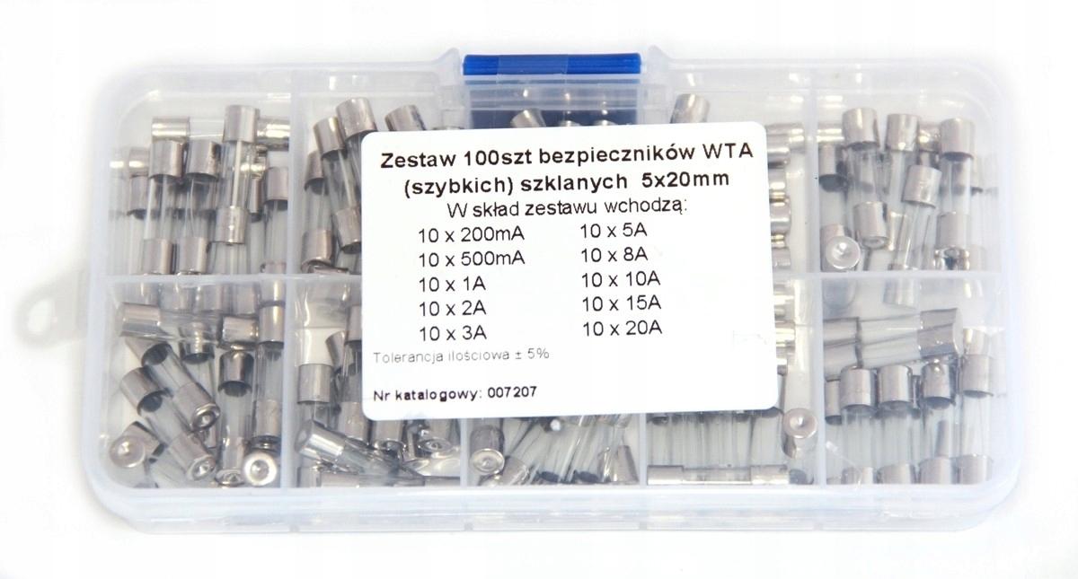 400MA//250VAC 5x20/mm T 10x Glass Fuse Switch