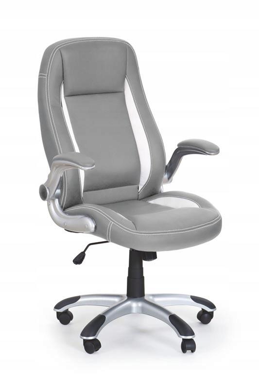 otočná stolička SATURN eko koža Laboratórne SIVÁ