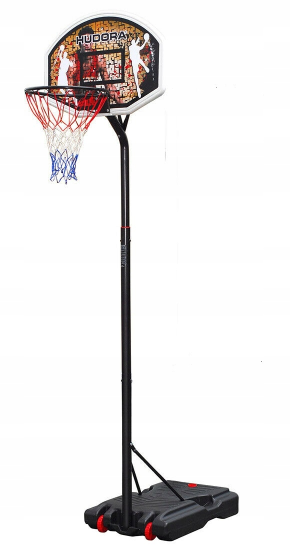 KOŠÍK SPRÁVNEJ mobilný STOJAN 2,6 m basketbal HUDORA