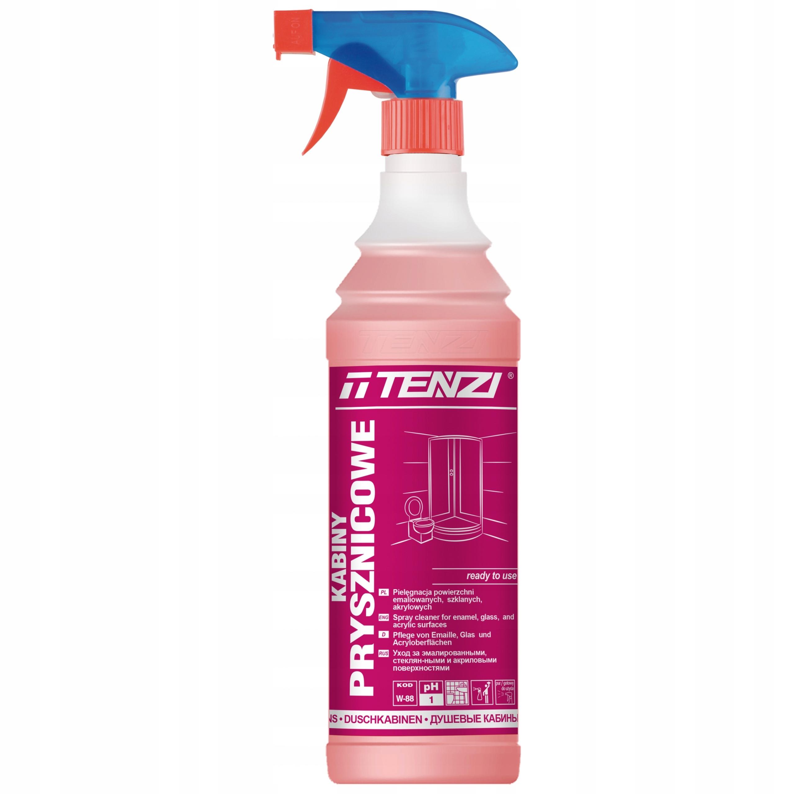 Кабины для душа Tenzi мытье очистки 600 мл