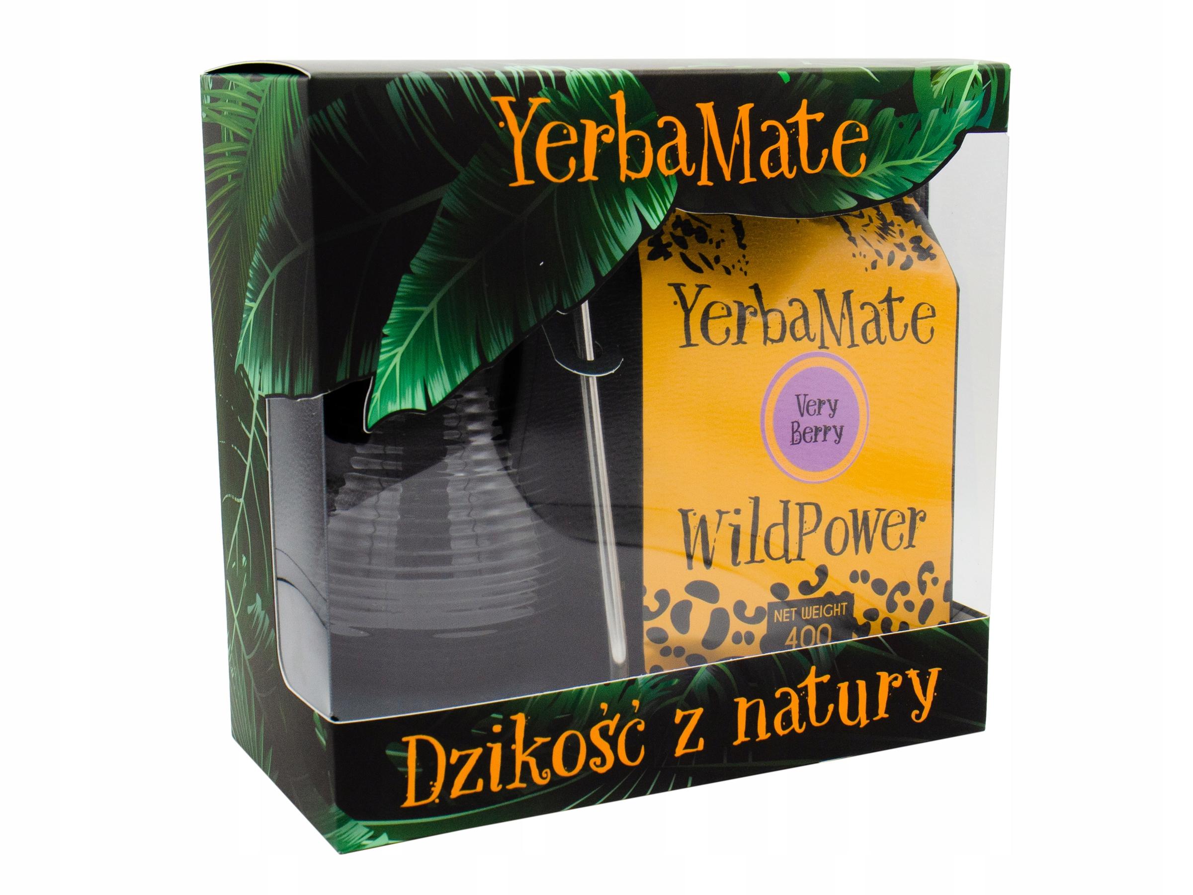 Starter kit YERBA MATE VERRY BERRY berry 400g