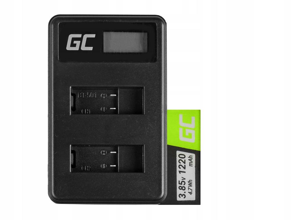 Bateria i ładowarka do kamery GoPro Hero 8 1220mAh