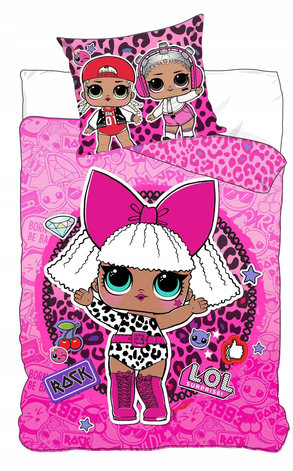 Posteľná bábika LOL L.O.L. PREKVAPENIE 140x200
