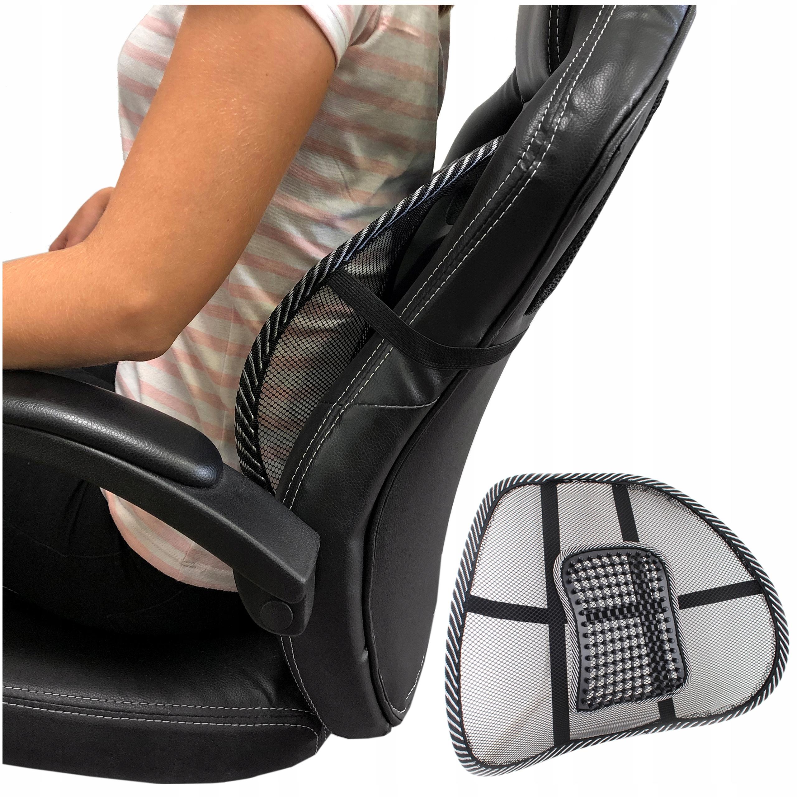 Podpora bedrovej podložky pod späť na stoličke