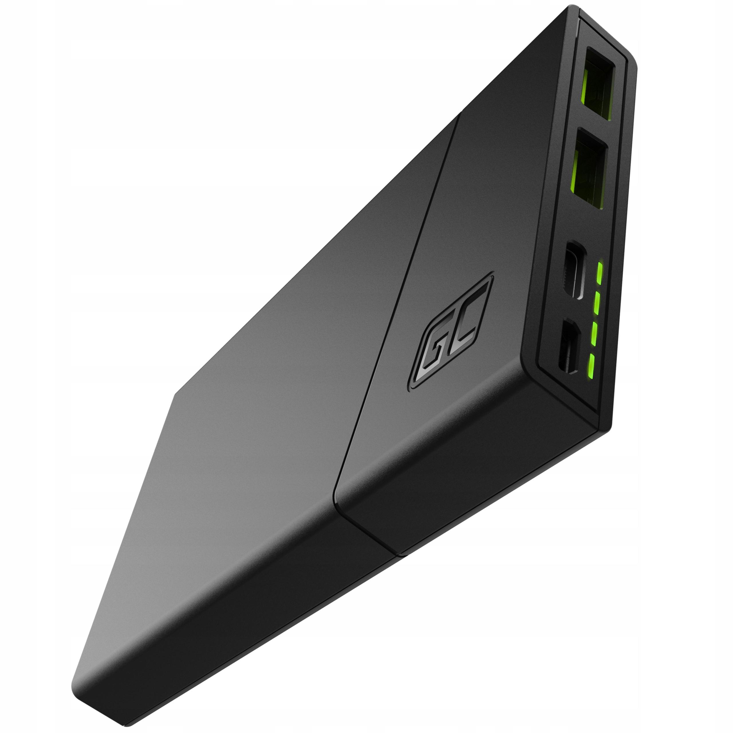 Item The Green Cell Power-Bank 10000mAh GC PowerPlay10 18W