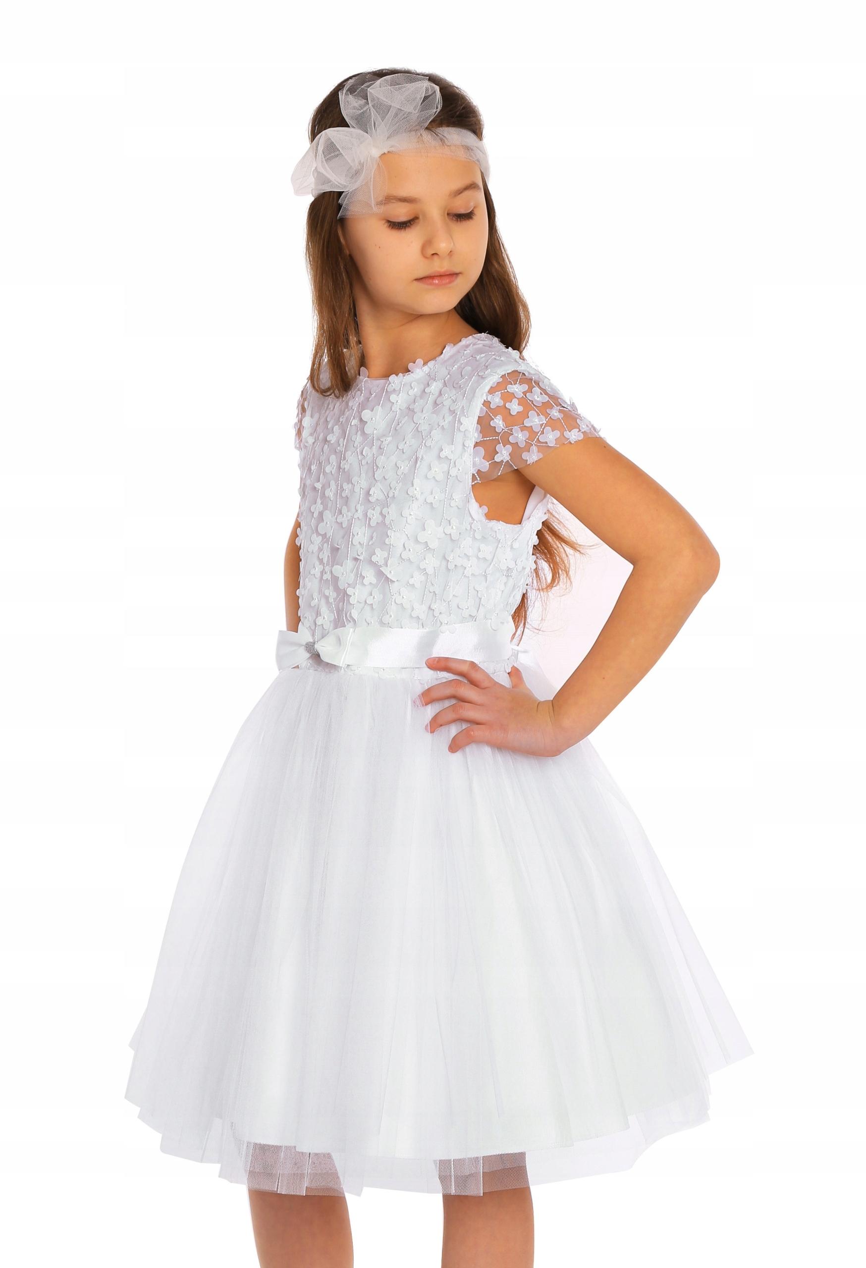 """Sukienka z kwiatuszkami- """"Lena"""" roz.M"""