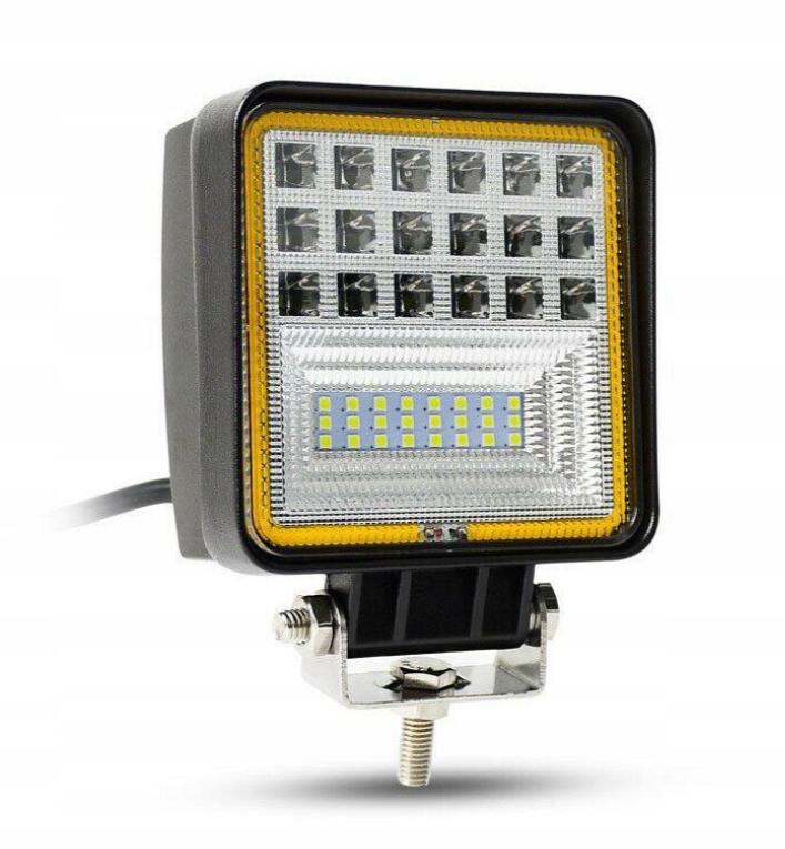 панель led лампа рабочая галоген 126w 12-24v cree