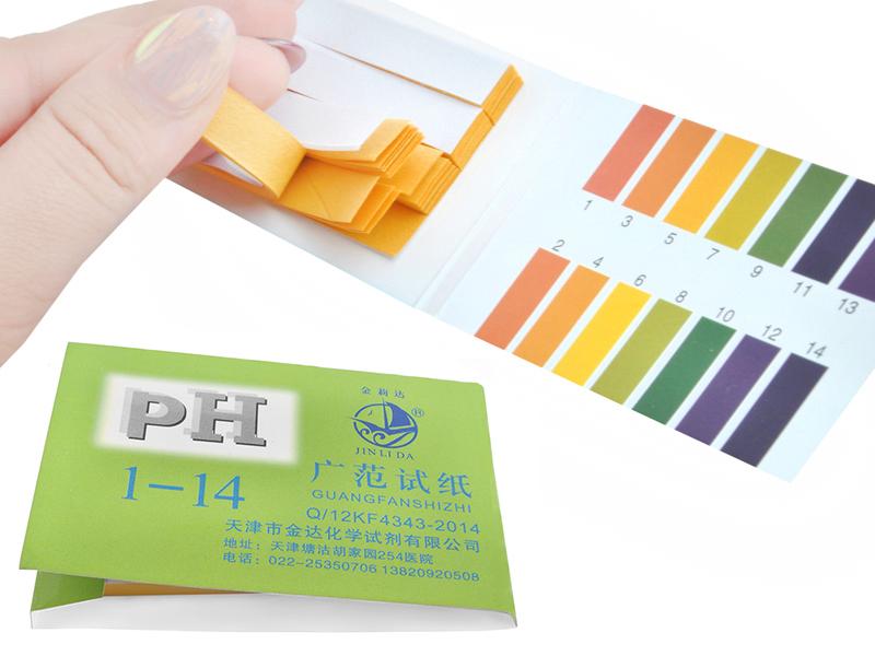 Litmus Бумажные полосы 80 ПК Тест PH METR 1-14