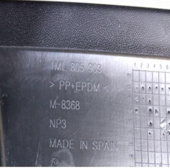 оригінал спойлер докладка leon cupra r. aso seat, фото