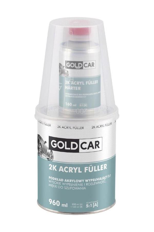 GOLDCAR акриловая основа Acryl Fuller GREY 960мл