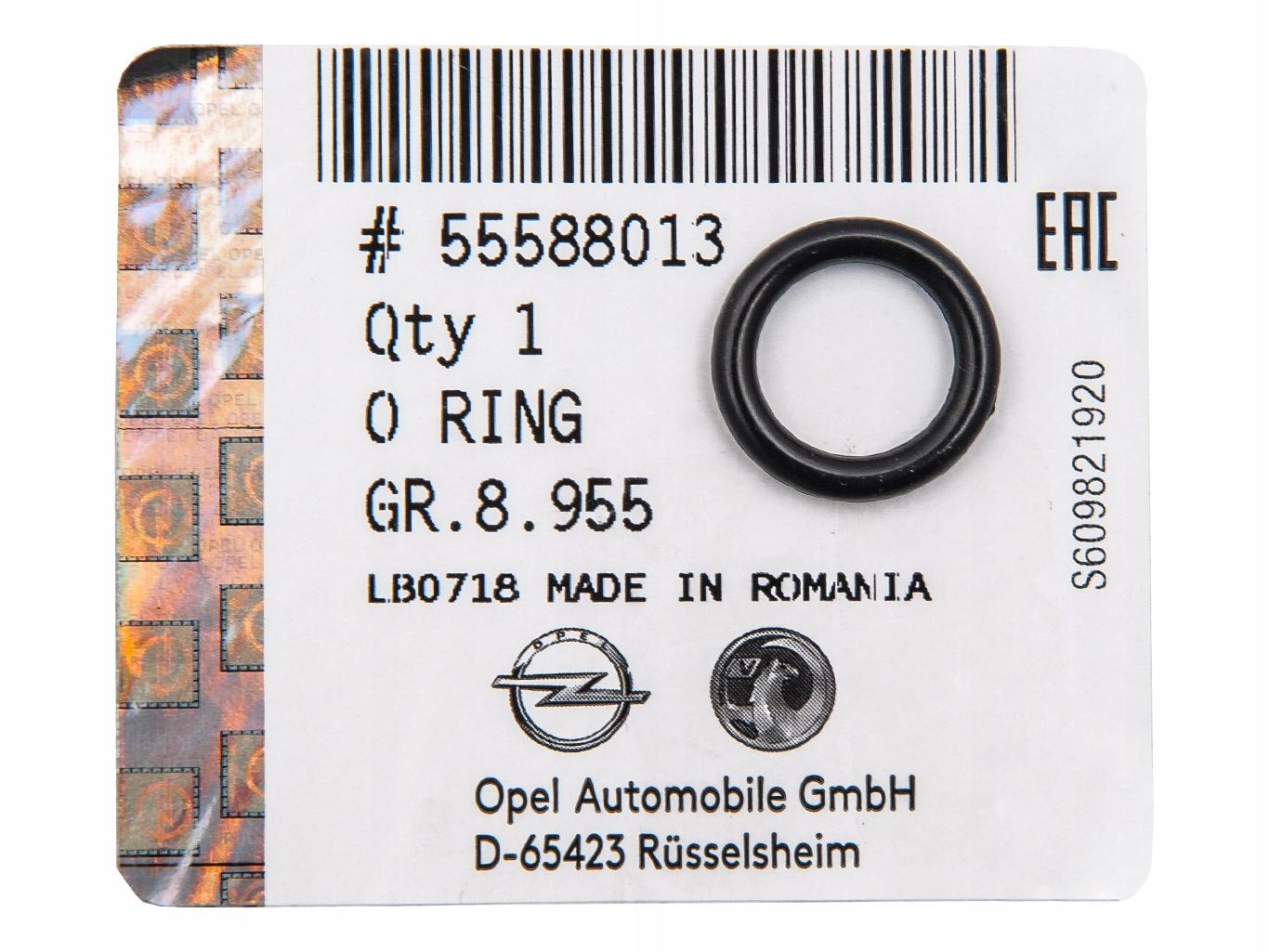 уплотнительное кольцо прокладка сепаратор масла opel insignia 20