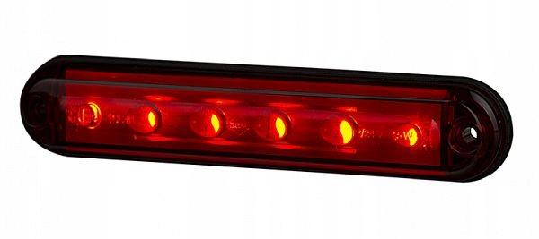 лампа led стоп сплава динамика диодов красная
