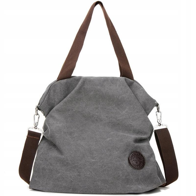 L118 GREY BAG City Bag Вместительная сумка