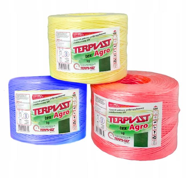 ШПАГАТ ТЕКС 1000 0,25 кг сельскохозяйственный садоводов крафт-бумаги
