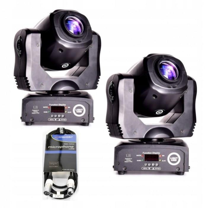 Купить 2x LIGHT4ME МИНИ-SPOT 60 MKIII голова LED + провод на Otpravka - цены и фото - доставка из Польши и стран Европы в Украину.