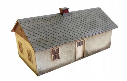 Chałupa dom murowany H0