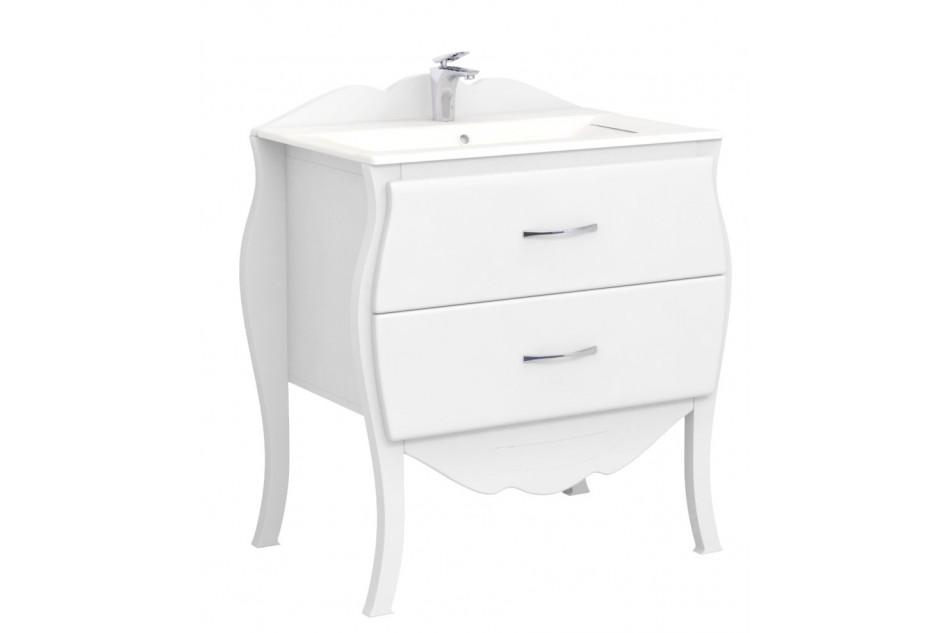 Skrinky s umývadlom 72 retro krásy PREMIUM white